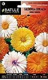 Semillas de Flores - Calndula semi alta doble variada - Batlle