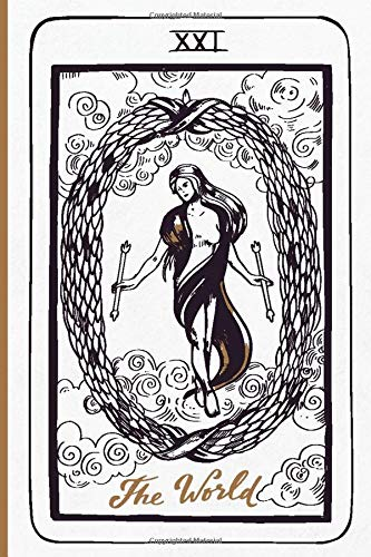 The World Tarot Card Journal: Major Arcana Tarot Card...