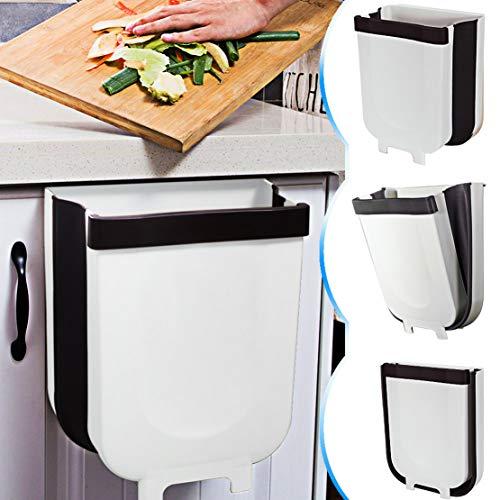 TTMOW Cubos de Basura Plegable Colgando para la Cocina, Coch