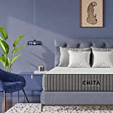 CHITA 12 Inch Twin Cool Gel Memory Foam Mattress with Cooling Cover - CertiPUR-US Certified - Bed in a Box – Medium Firm - 365 Night Trial - Removable Cover - 10 Years Warranty