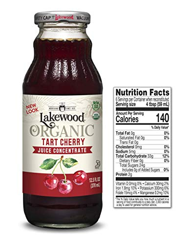 Lakewood Tart Cherry Concentrate (12.5 Oz, 6 Pack)