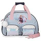 Disney Frozen La Reine des Neiges Trust your journey Sac de Voyage Bleu 35x21x11,5 cms Polyester...