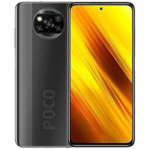 "Xiaomi Poco X3 NFC Smartphone RAM 6GB ROM 64GB 6,67""FHD+ LCD DotDisplay Hochleistungsbatterie mit 5160 mAh (typ) Grau [Globale Version], 6941059650454"