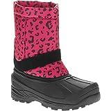 OZARK TRAIL Girls' Temp Rated Winter Boot (Toddler/Little Kid/Big Kid) (Pink Leopard, 9 M US Toddler)