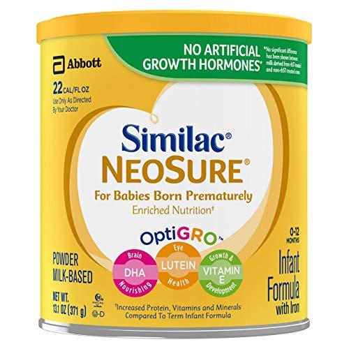 Similac NeoSure Infant Formula with Iron, For Babies Born...