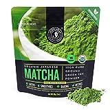 Jade Leaf Matcha Green Tea Powder - USDA Organic, Authentic Japanese Origin - Culinary Grade - Premium 2nd Harvest - (Lattes, Smoothies, Baking, Recipes) - Antioxidants, Energy [30g Starter Size]