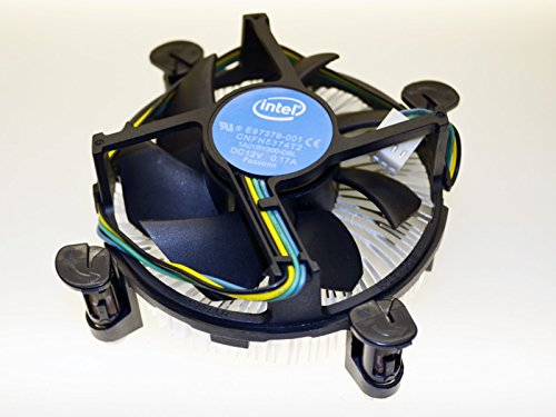 Intel Socket 1155/1156 Aluminum Heat Sink And 3.5-inch Fan with 4-Pin Connector up to Core i3...