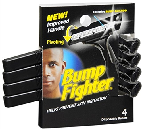Bump Fighter Disposable Razors 4 Each (Pack of 5)