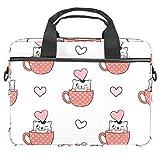 Bolsa de hombro para portátil con bolsillos de almacenamiento de accesorios (13.4-14.5')