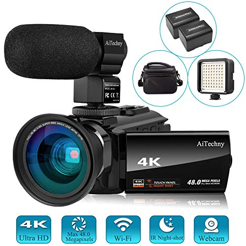 51FMP4 9PkL - The 7 Best Budget Camcorders