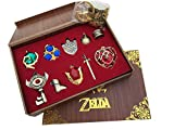 2015 new The Legend of Zelda Twilight Princess & Triforce Hylian shield and...