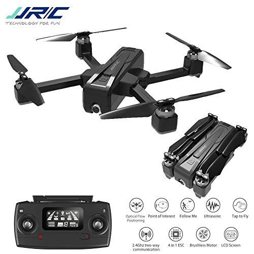 DishyKooker aeromobili radiocomandati Drone JJ-RC X11 5G WiFi FPV con Fotocamera 2 carati GPS 20 min Tempo di Volo Pieghevole RC Drone Quadcopter vs f11 b4w sg906 1 Battery