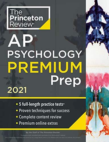 Princeton Review AP Psychology Premium Prep, 2021: 5...