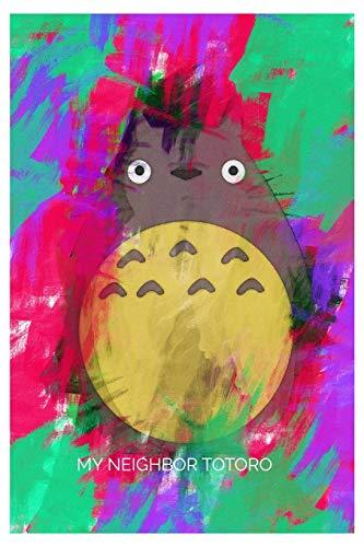 My Neighbor Totoro Art SKETCHBOOK Gift 120 pages