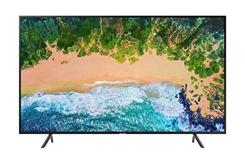 Samsung UE58NU7170UXZT Smart TV 4 K UHD, 58'/146 cm, WiFi, DVB-T2CS2, Serie 7 NU7170, 3840 x 2160 pixels, Nero [Classe di Efficienza Energetica A]