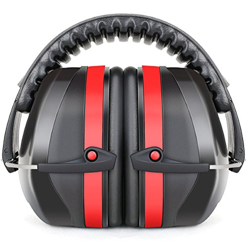 Fnova 34dB Highest NRR Safety Ear Muffs - Professional Ear...