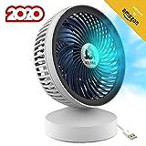 KLIM Breeze - Ventilateur de Bureau USB Haute Performance - Ventilo de Table - Silencieux et...