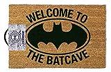 ootb GP85021 Essuie-Pieds, Batman - Welcome to The Batcave, 40 x 60 x 1,5 cm