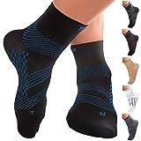 TechWare Pro Ankle Compression Socks - Plantar Fasciitis Sock & Foot Support
