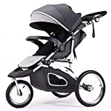 Jogging Stroller Fold City Baby Jogger Travel Citi Jog Strollers Single Toddler Baby Pram Jogging Compact Urban Ultralight Joggers Beby Carriage Pushchair Stroller Travel System