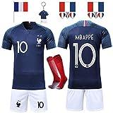Rongli Maillots de Football T-Shirt 2 Étoiles Vêtements de Football avec...