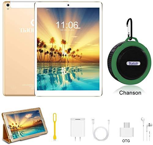 Tablet 10 Pollici con wifi offerte Android 9.0 4GB RAM + 64GB ROM 4G Dual SIM 7500mAh Tablet Pc con...