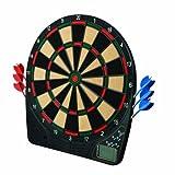 Franklin Sports Electronic Dartboard Ready to Play Digital Dartboard Soft Tip Darts 13.5