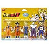 Bandai - Dragon Ball Z - Set de 5 figurines 1er combat - Héros 1 - Super...