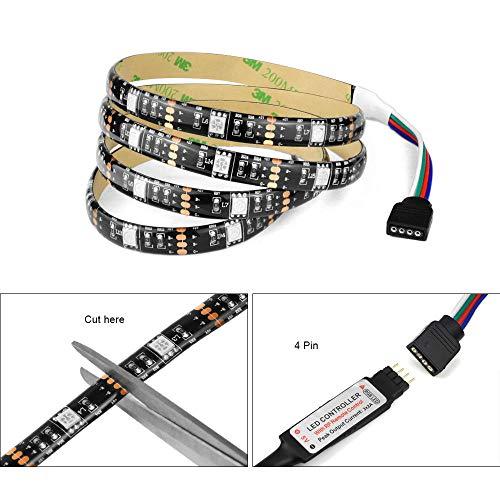 Led Tv Led Usb Striscia Led Striscia Led Alexa Alexa Wifi 5050 Striscia Di Illuminazione Usb Rgb...