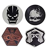 Paladone Call of Duty Premium Metal Drink Coasters Set of 4