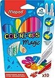 Maped Color'Peps Feutres pour Coloriage Magiques pour Enfant - Encre qui...