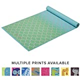 Gaiam Kids Yoga Mat Exercise Mat, Yoga for Kids with Fun Prints - Playtime for Babies, Active & Calm Toddlers and Young Children, Metallic Mermaid, 3mm, Model: 05-63947
