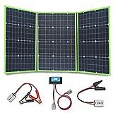 YUANFENGPOWER 150w 12 V panneau solaire kit 3 x 50w pliable Chargeur solaire portable module...