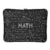 Standard Funny Mathematical Formula Quadrant - Bolsas para ordenador portátil, multifuncionales, incluye protector para tablet Love Math adecuado para viajeros de 15 pulgadas