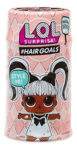 Image 2 - MGA Entertainment 556220E7C L.O.L. Surprise Hair Goals Poupée avec Cheveux coiffables et Accessoires Assortis Multicolore