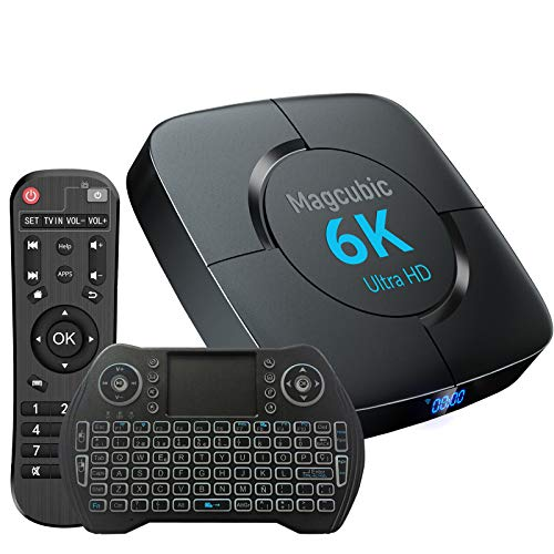 TV Box Android 10 4GB Ram 64GB ROM Support Dual WiFi 2.4G 5G...