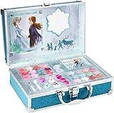 Frozen II in Time Beauty Travel X6 - Estuche de maquillaje, set de maquillaje para niñas, maquillaje y ...