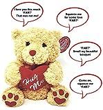 Farting Teddy Bear - Hug It's Heart to Hear It Fart | Soft Plush 11'...