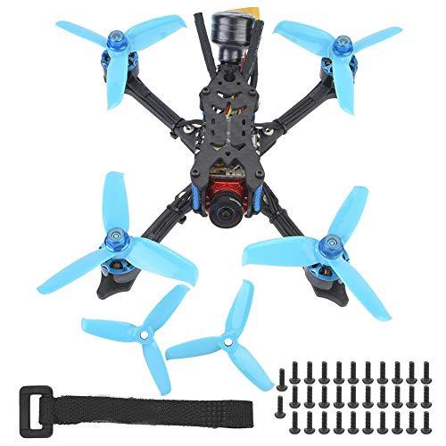 Drone da Corsa con Ricevitore Frsky XM +, Drone Interasse 152mm con Videocamera Caddx Ratel 1200TVL per Adulti(6S BNF)