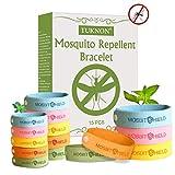 TUKNON Bracelet Anti-Moustique, Mosquito Repellent Bracelet, Bracelet Anti Moustique pour Enfants et...