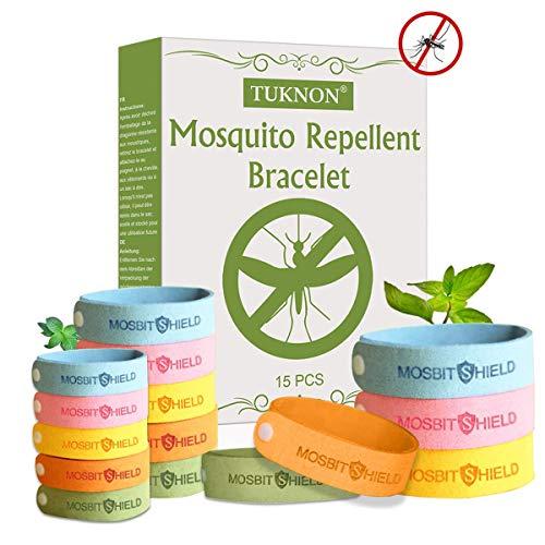 TUKNON Bracelet Anti-Moustique, Mosquito Repellent Bracelet, Bracelet Anti...