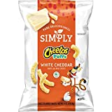 Simply Cheetos Puffs White Cheddar Cheese Flavored Snacks, 8 Ounce