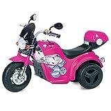 Kid Motorz 6V Motorcycle Ride On, Pink
