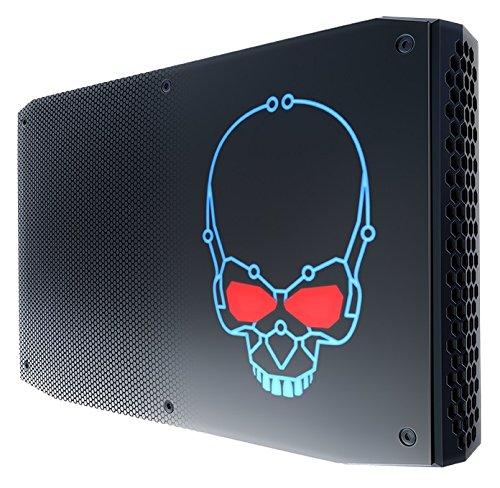 Intel BOXNUC8I7HNK2 Barebone Mini-PC (BGA 2270, 3.1GHz, i7-8705G, 14 nm) schwarz