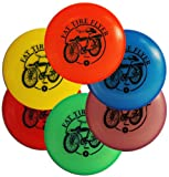 The Wright Life Wham-O Mini Disc 6 Pack Frisbee Golf Markers - Fat Tire Design
