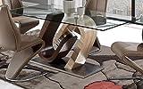 Global Furniture Dining Table, Walnut Oak