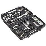 AmazonBasics Caja de herramientas de uso general para el hogar, 48 piezas