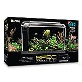 Fluval SPEC Aquarium Kit, Aquarium with LED Lighting and 3-Stage Filtration System, 5-Gallon