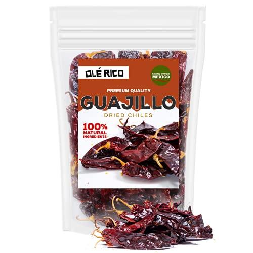 Dried Guajillo Chiles Peppers