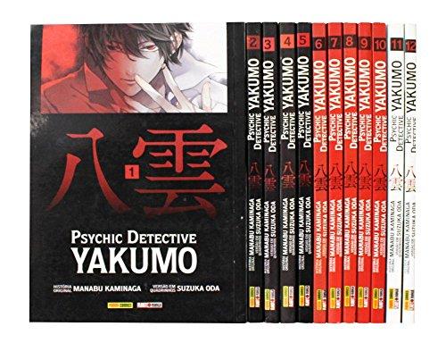 Psychic detective yakumo - volume 1 ao 12